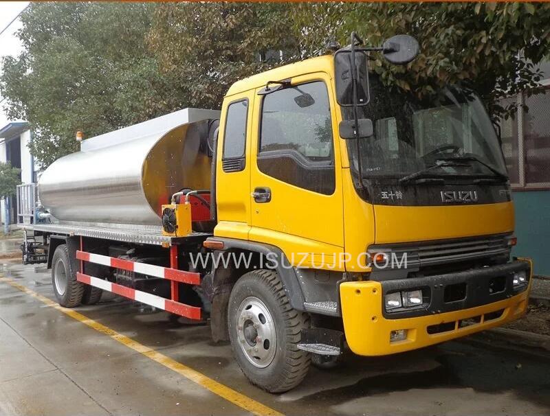 ISUZU 12cbm asphalt distributor truck