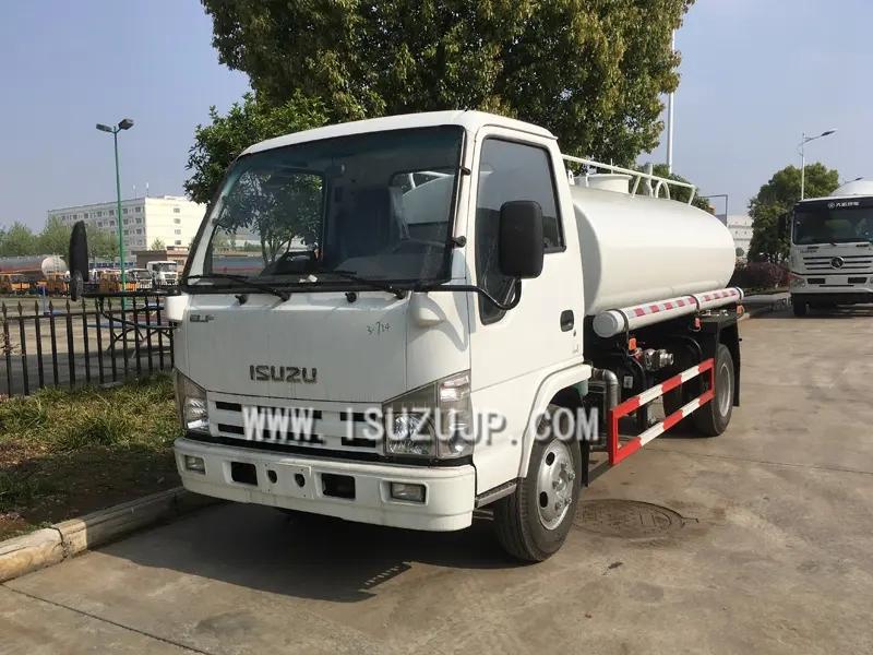 ISUZU ELF 5000L Water bowser truck