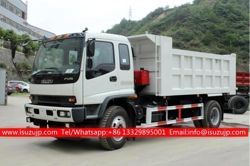 ISUZU FVR 15 ton dump truck