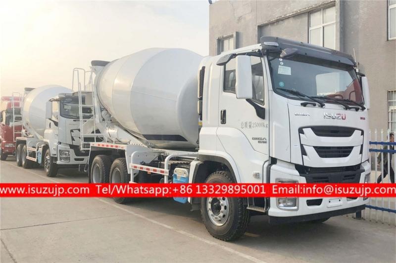 ISUZU GIGA 12cbm Concrete Mixer Truck