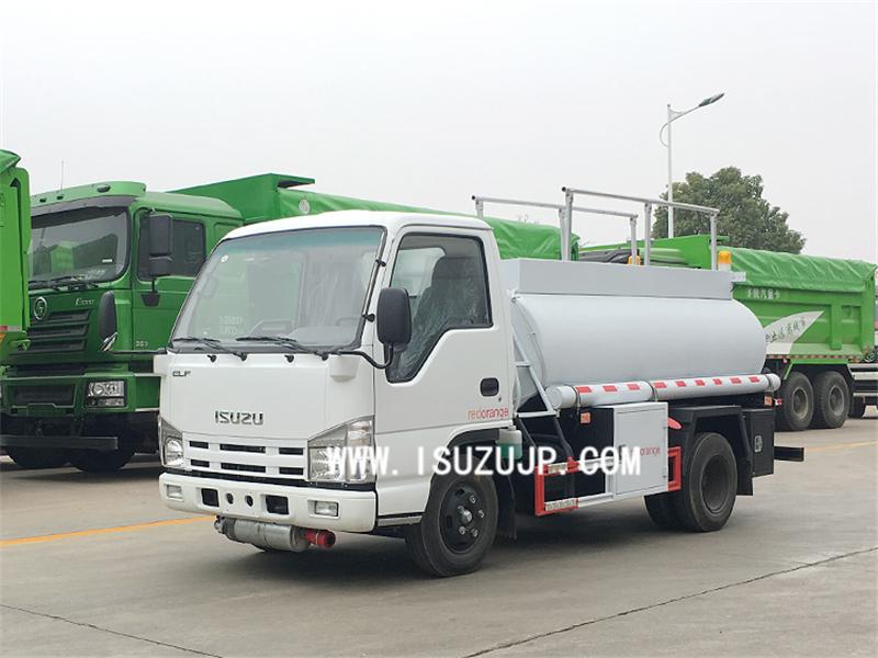 ISUZU NHR 5m3 oil tanker truck