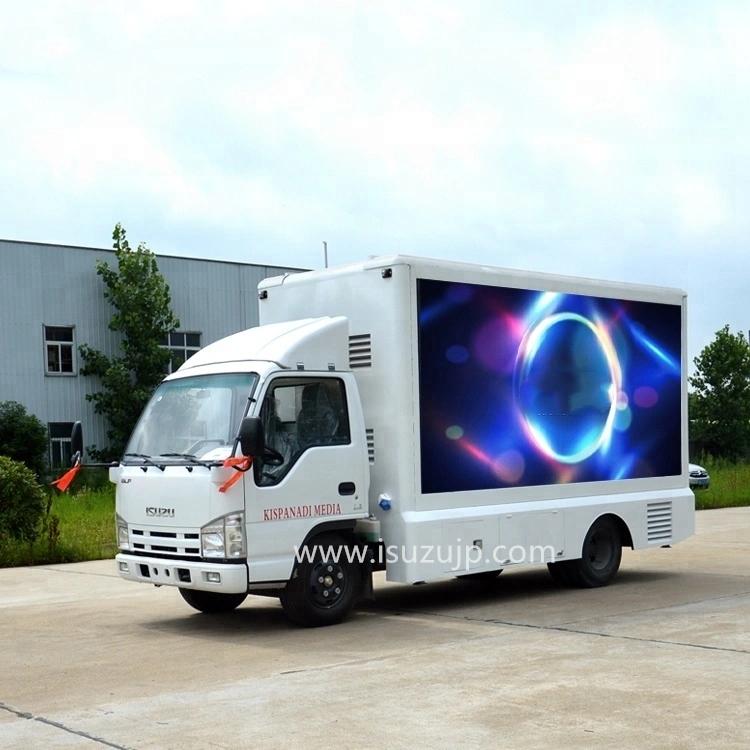 ISUZU NJR 6.8㎡ led stage truck