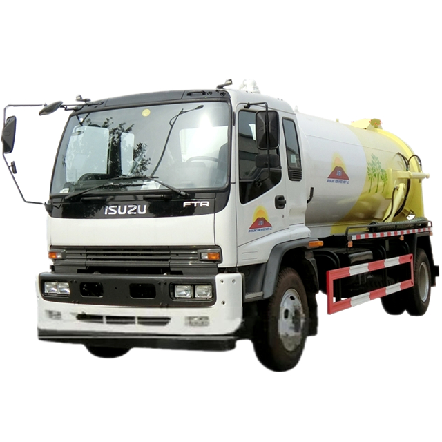 Isuzu 10 ton Sewage suction truck