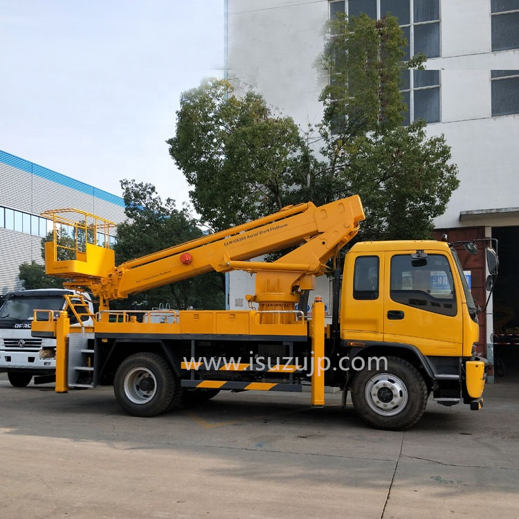 Isuzu 32m Hydraulic telescopic boom truck