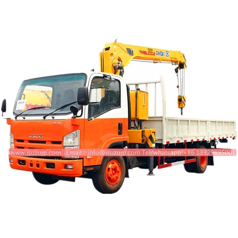 Isuzu Elf 5 ton truck crane