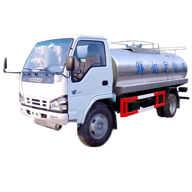 Isuzu Milk tanker truck