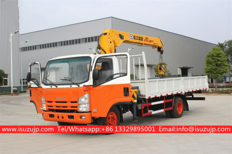 Isuzu Straight Arm Truck Mounted Crane